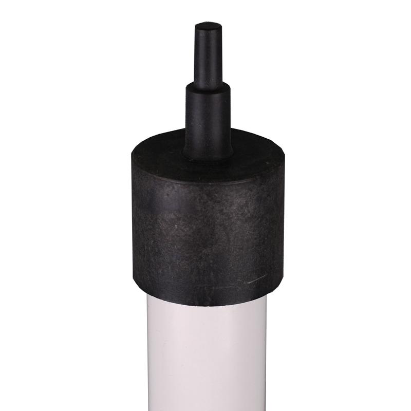 Lotstab 150 cm, Holz – mit Adapter für Doppelpentagon oder Winkelprisma