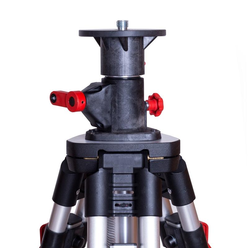 Aluminium-Kurbelstativ 300 cm - leichtes gleiten/kein Verkanten - konstante Klemmkraft