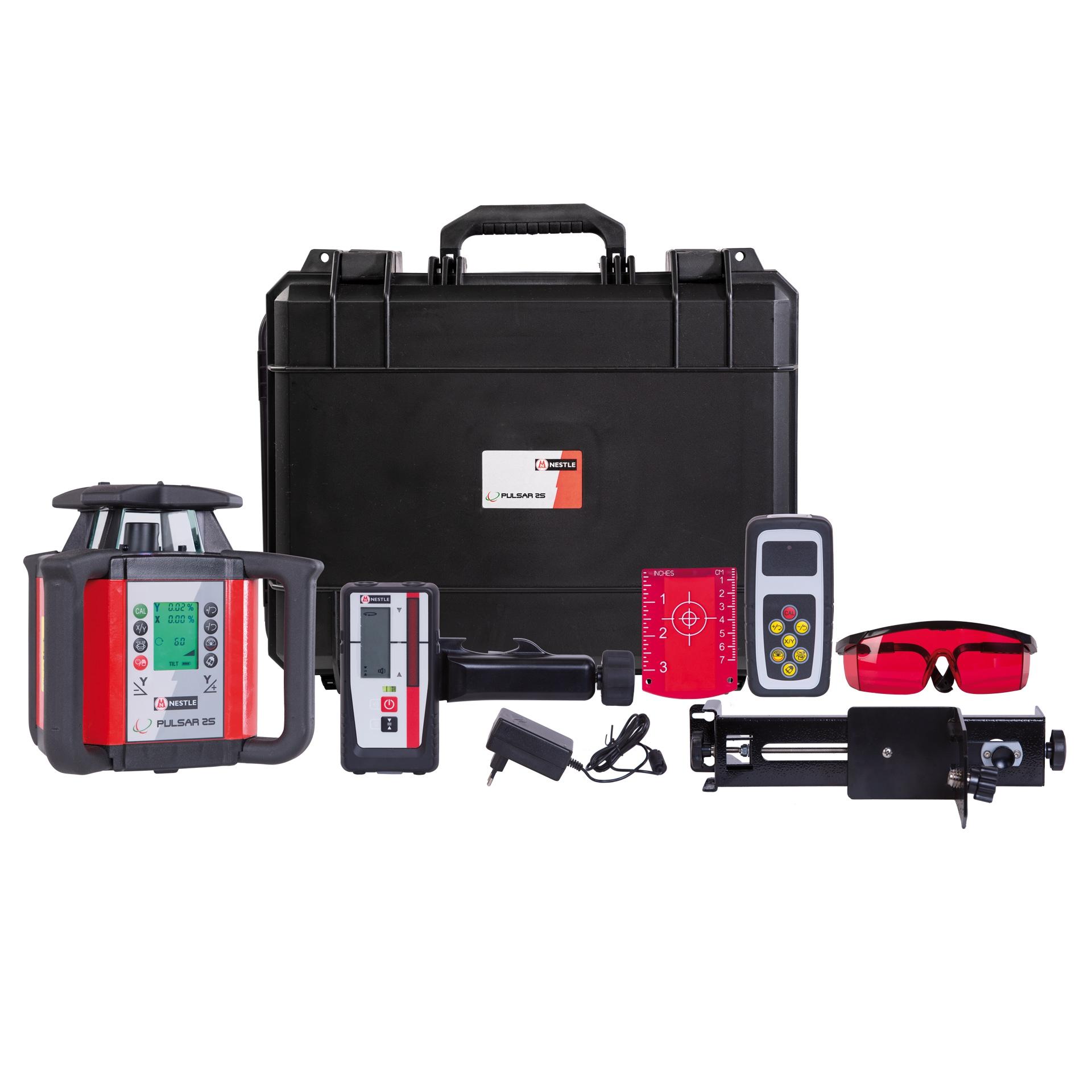 Nestle PULSAR 2S - vollautomatischer 2-Achs-Neigungslaser/Rotationslaser
