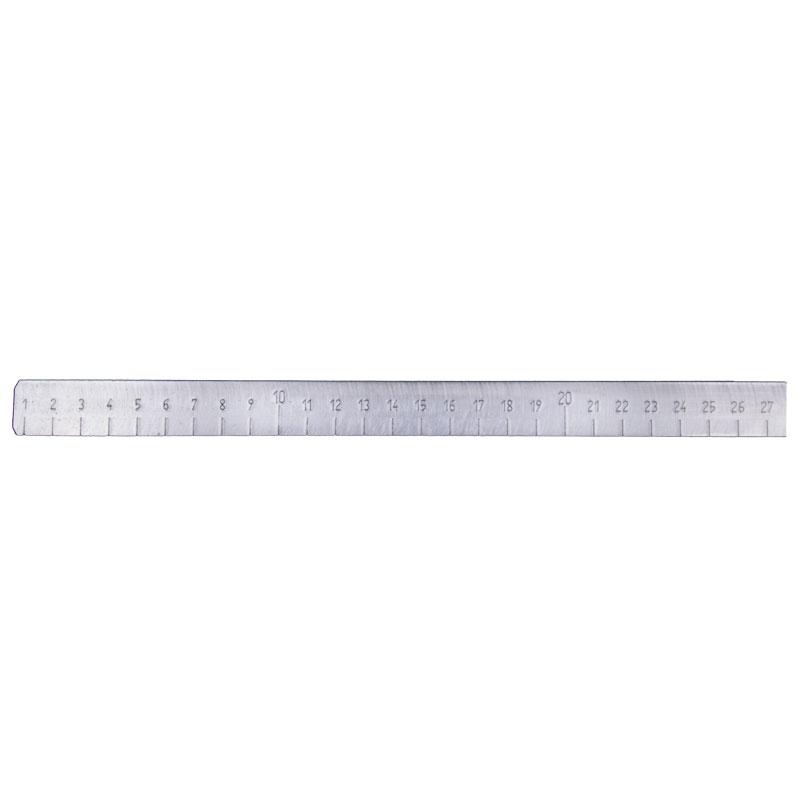 Messkeil, Messbereich 0 - 27 mm aus Aluminium, mit Holzgriff