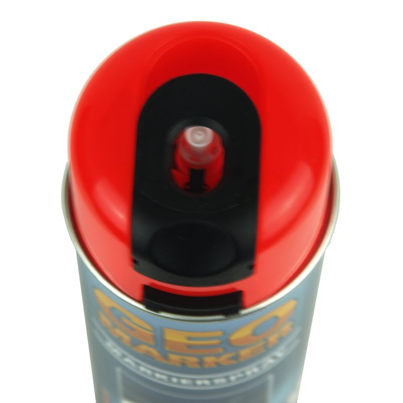 Baustellen-Markierspray in 500ml-Dose  - Farbe: leuchtrot