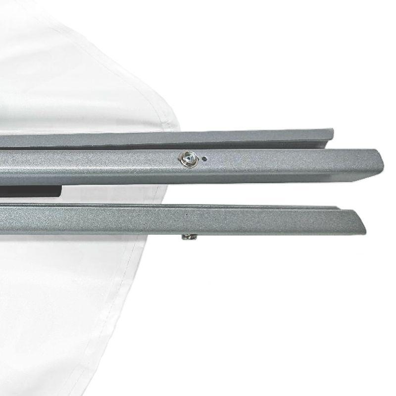 Stabgewicht (2 kg) für Warnpyramide/ Faltsignal leicht - mehr Standsicherheit bei Wind