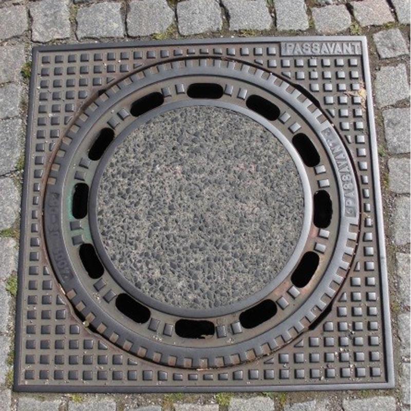 Schwerlasthaken 12x8 mm für Kanaldeckelheber