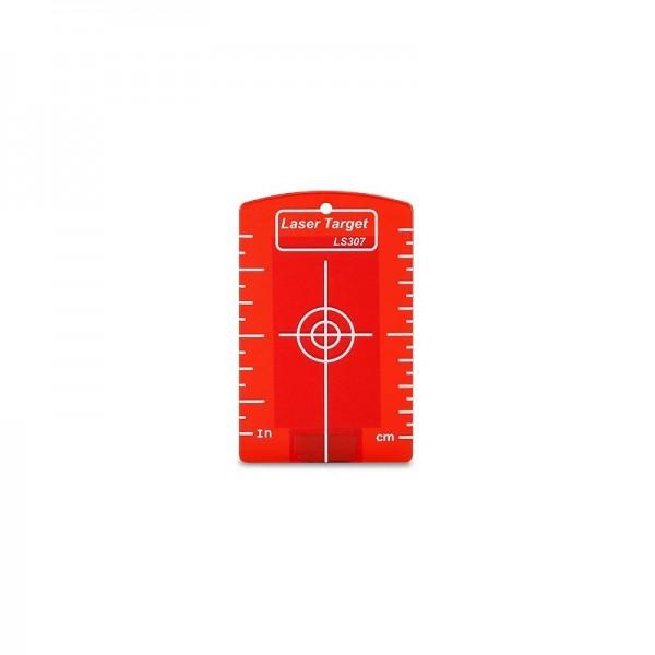 Deckenzieltafel mit Magnet, rot