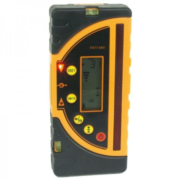 Laserempfänger digital, mit mm-Anzeige und extra langem Empfangsfeld
