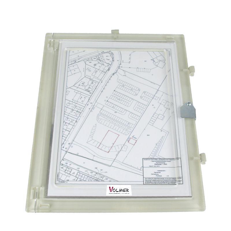 Feldbuchrahmen DIN A4 - Plexiglas