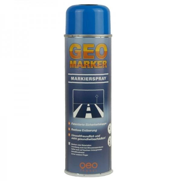 Baustellen-Markierspray in 500ml-Dose - Farbe: leuchtblau
