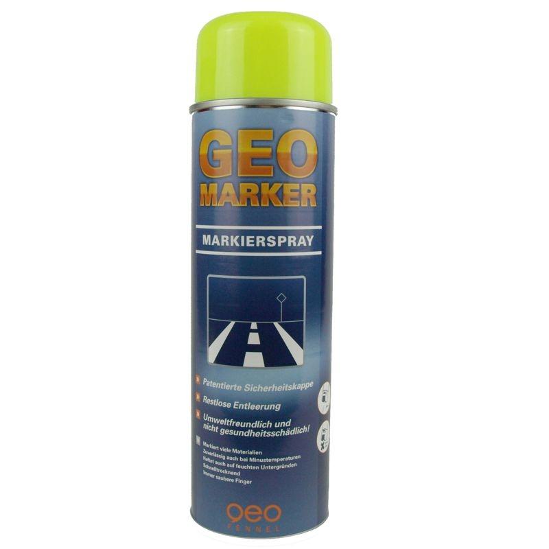 Baustellen-Markierspray in 500ml-Dose - Farbe: leuchtgelb