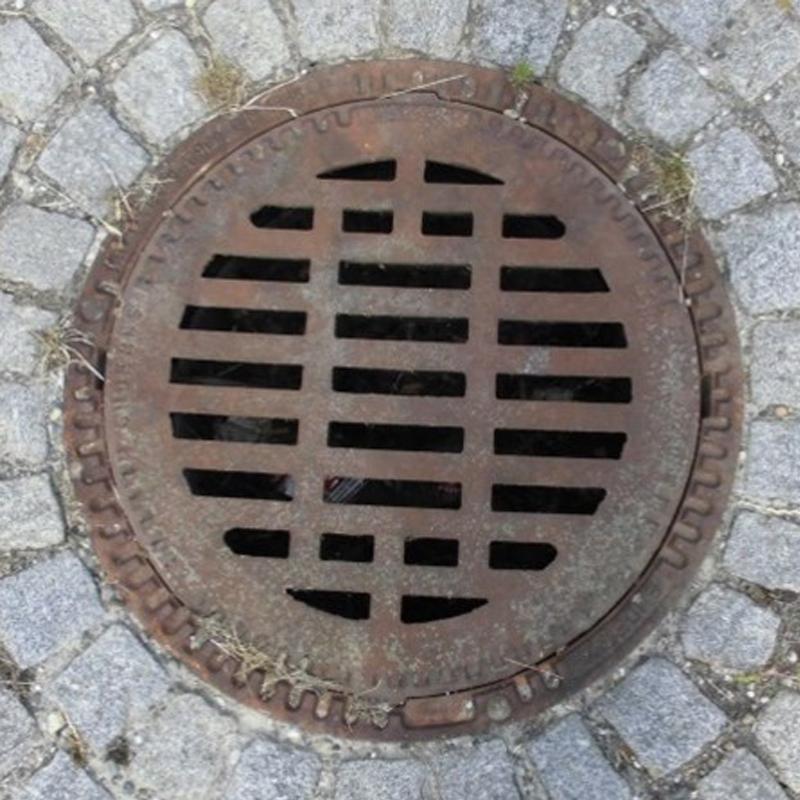 Schwerlasthaken 15x15 mm für Kanaldeckelheber