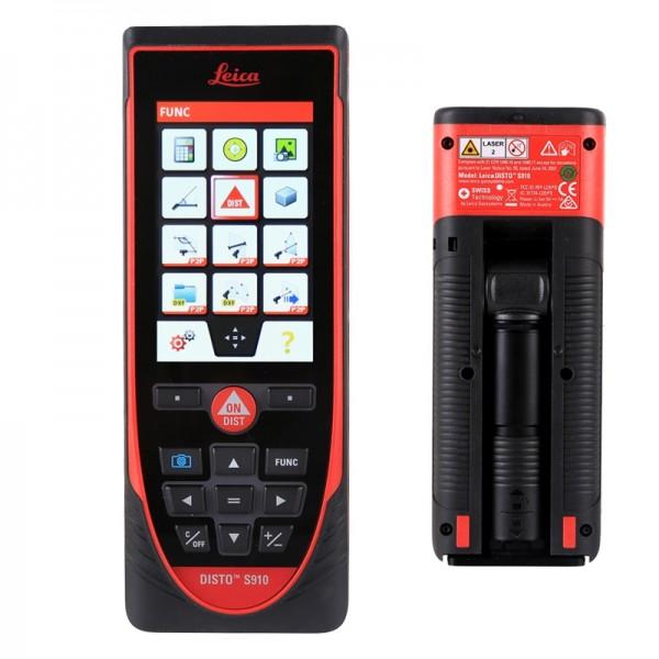 Laserentfernungsmesser DISTO™ S910 von Leica – P2P Technologie, integrierte Smart Base
