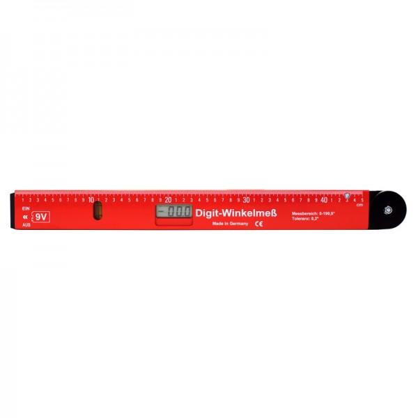 Elektronischer Winkelmesser 52 cm - Digitalanzeige mit 0,15° Toleranz, Transportlänge 52 cm