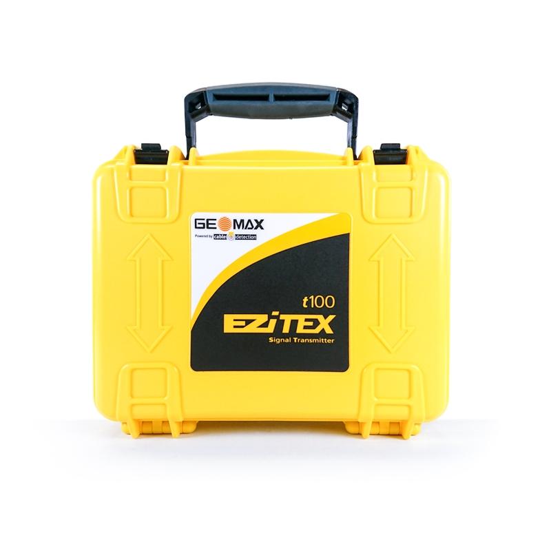 """Signalgeber GEOMAX """"EZiTEX t100"""" - Tiefenmessung und aktive Ortung passiver Leitungen, IP 67"""