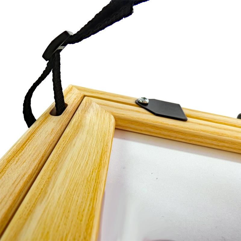Feldbuchrahmen DIN A4 - Holz - Das Standard-Klemmbrett auf Feld und Baustelle