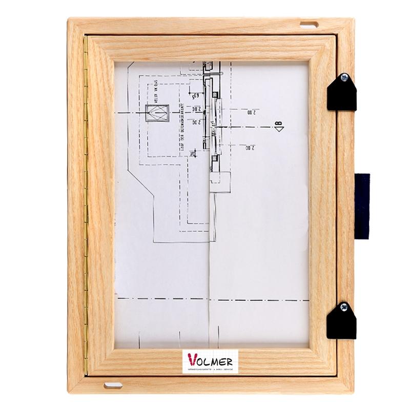 Feldbuchrahmen DIN A4 - Holz