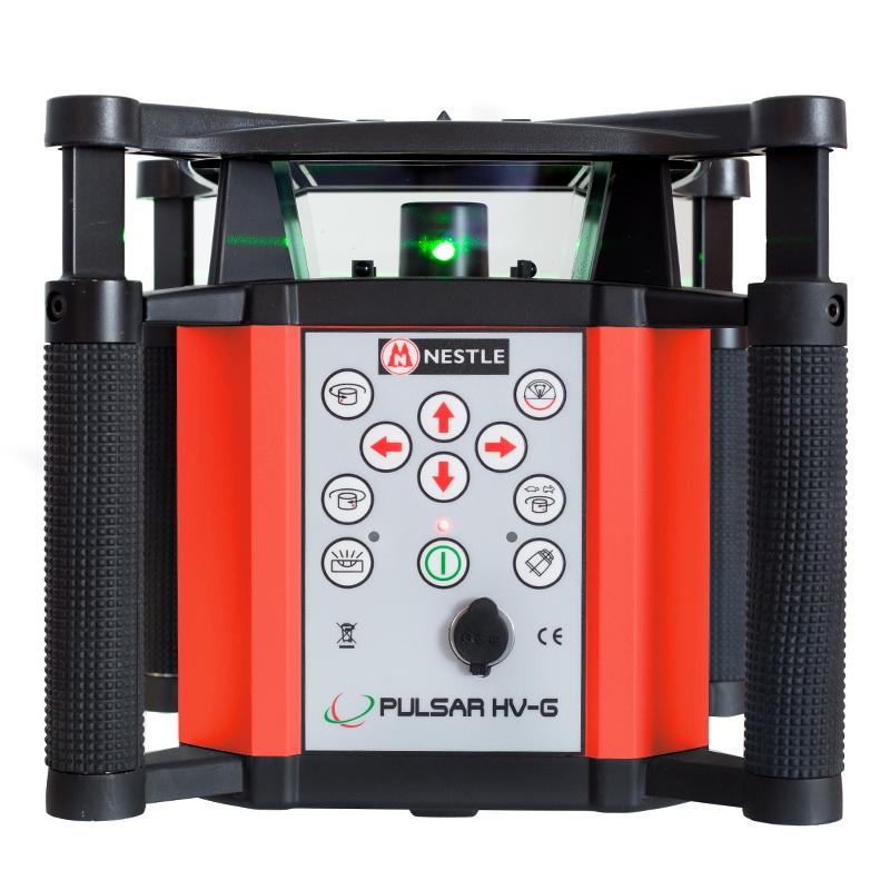 Nestle PULSAR HV-G horizontaler und vertikaler Rotationslaser mit grüner Laserdiode