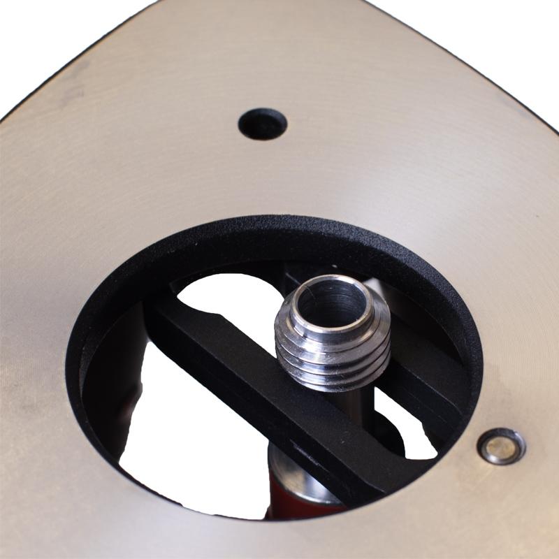 Schweres Alustativ mit Klemmhebel für schwere Lasergeräte, Theodolite und Messstationen