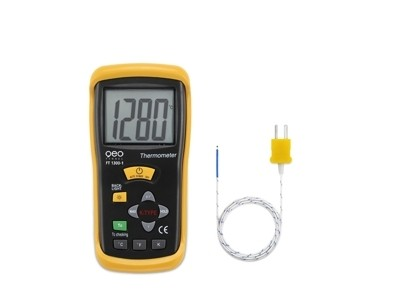 1-Kanal Temperatur-Messgerät FT 1300-1