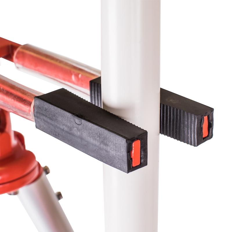 Fluchtstabstativ mit Kugelgelenk-Klemme von 77 - 128 cm ausziehbar