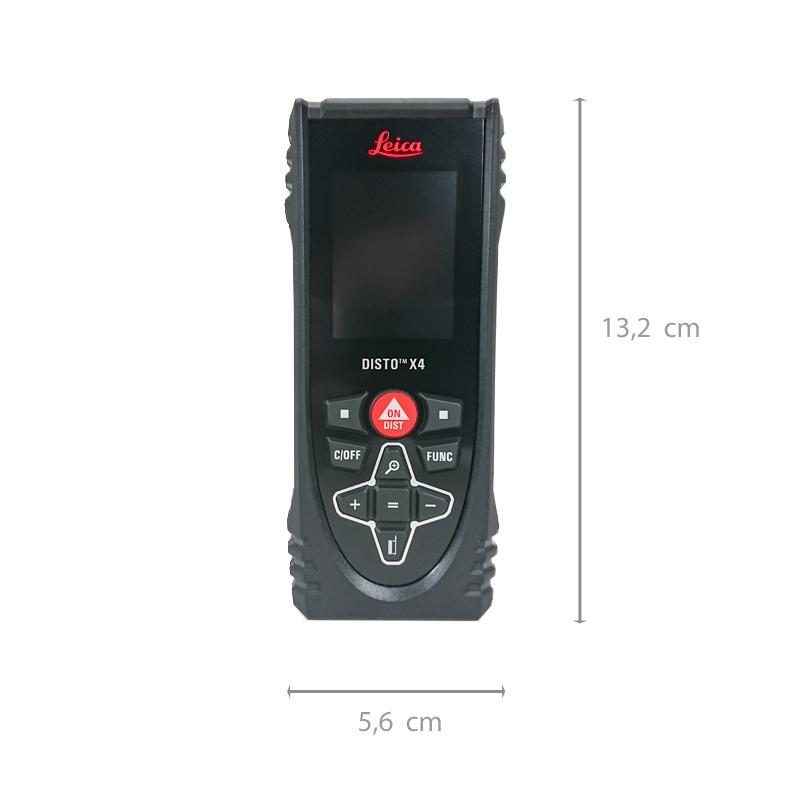 Laserentfernungsmesser DISTO™ X4 von Leica – präzise, zuverlässig, robust, mit digitalem Zielsucher